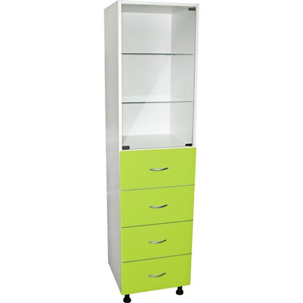 Медицинский шкаф с выдвижными ящиками