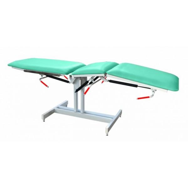 Кресло-кушетка медицинское на пневмопружинах с фиксированной высотой