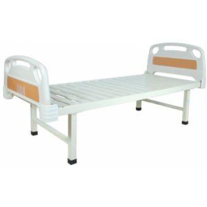 Кровать больничная с пластиковыми спинками