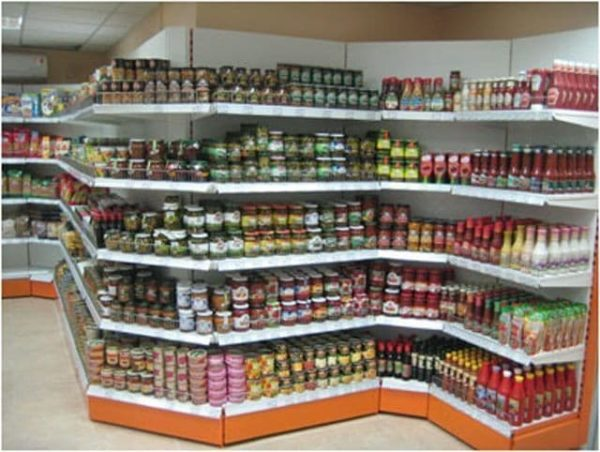 Стеллаж угловой внешний угловой в Казани по цене 4635 руб