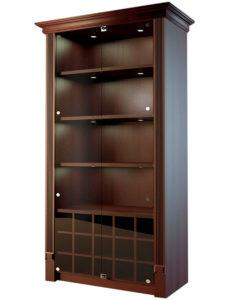 Шкаф для дорогого алкоголя со стеклянными дверцами LD 003-CT