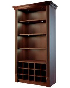 Шкаф для элитного алкоголя с отдельными ячейками LD-003