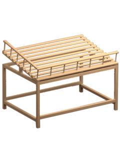 Деревянный стол для хлеба