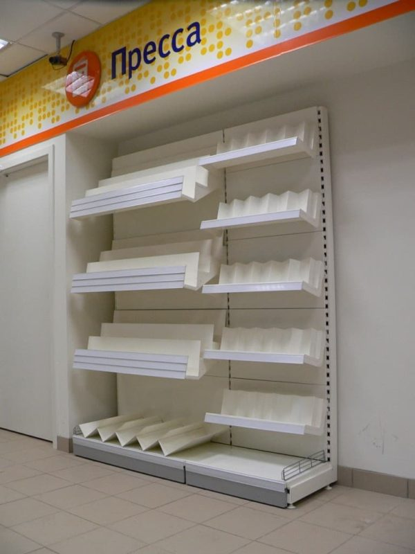 Стеллаж книжный пристенный в Казани по цене 11185 руб
