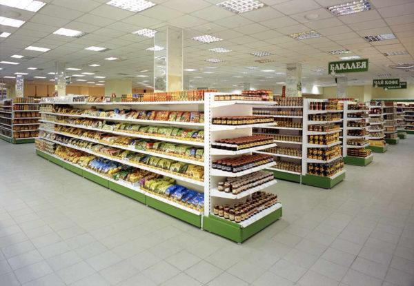 Островной стеллаж средний островной в Казани по цене 7095 руб