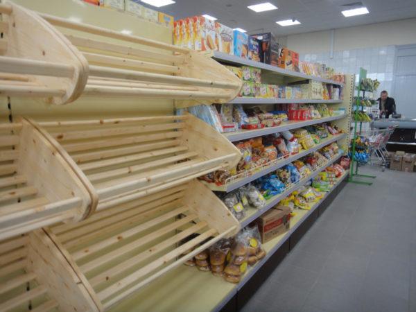 Стеллаж торговый хлебный с 2 корзинами в Казани по цене 13721 руб