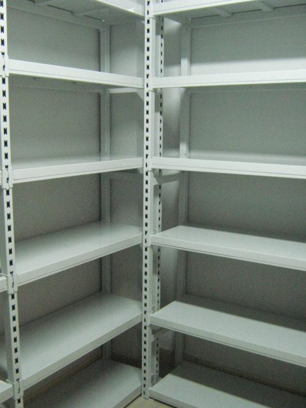 Стеллажи металлические для складов