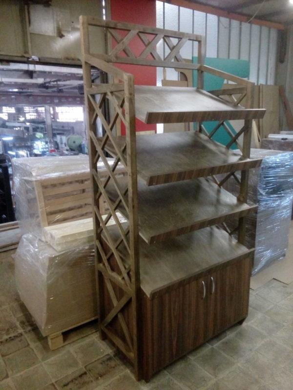 Витрина для хлеба - стеллаж в Казани по цене 21041 руб