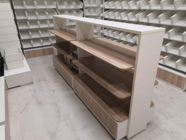 Островной стеллаж для хлеба и печенья в Казани по цене 24090 руб