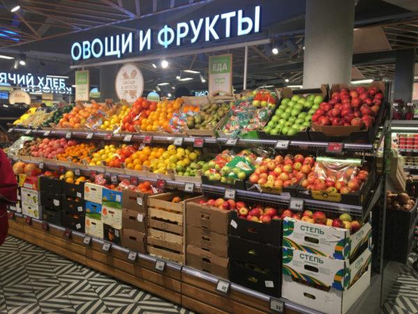 Овощной стеллаж - развал комплексный в Казани по цене 33411 руб