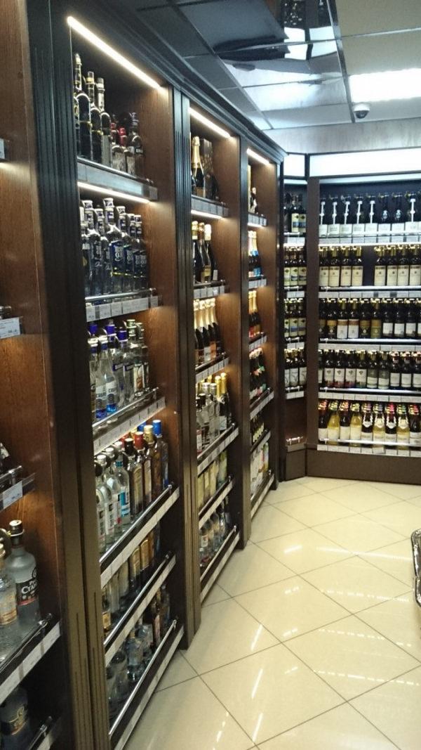 Стеллаж пристенный для бутылок в Казани по цене 7951 руб