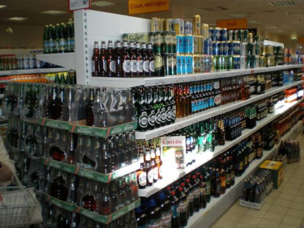 Стеллажи для алкоголя