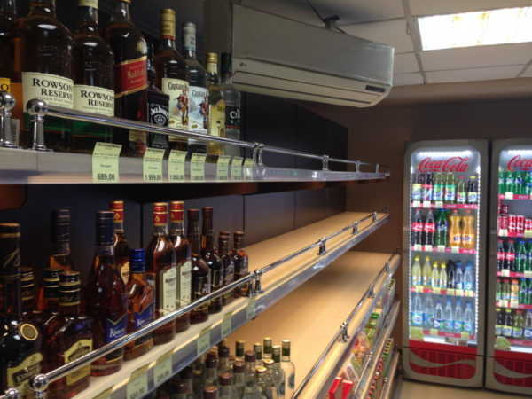 Стеллаж для алкоголя пристенный открытый в Казани по цене 7181 руб