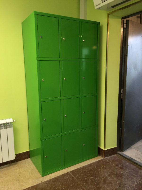 Вертикальный шкаф для хранения сумок 8 ячеек в Казани по цене 13600 руб