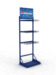 Фирменная стойка для супермаркета