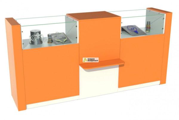 Кассовый стол торговый КС №7-2А1Б