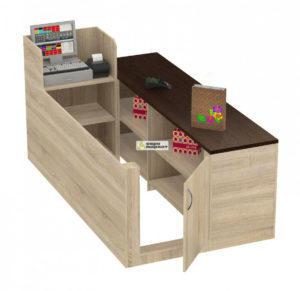 Кассовый стол торговый ЛЕНТА №2 правый