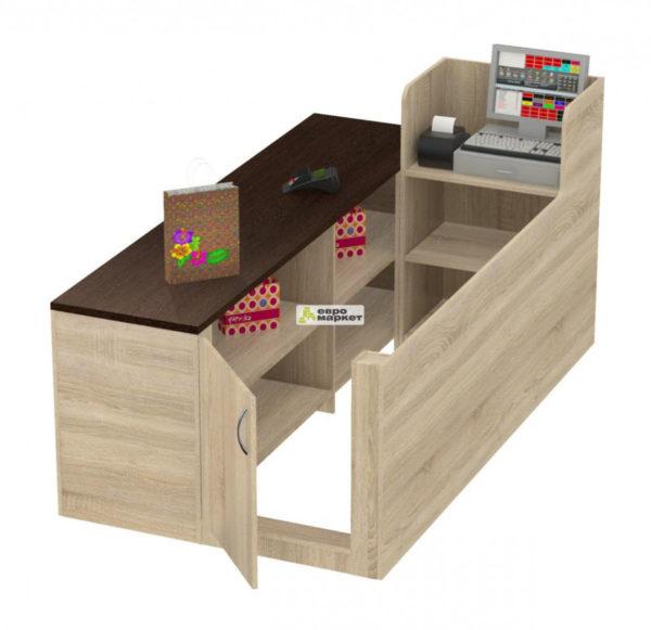 Кассовый стол торговый ЛЕНТА №2 левый