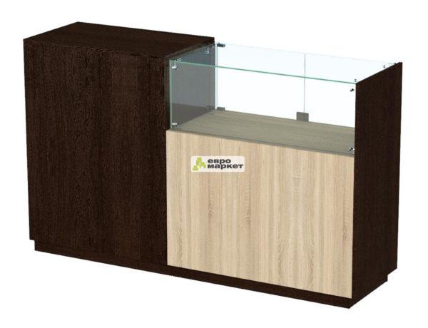 Кассовый стол торговый КС №8-1Б1С правый