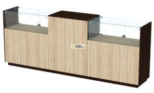 Кассовый стол торговый КС №8-2С1А