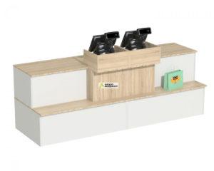 Кассовый стол торговый №9 составной