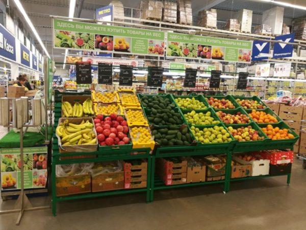 Овощной развал металлический в Казани по цене 11903 руб