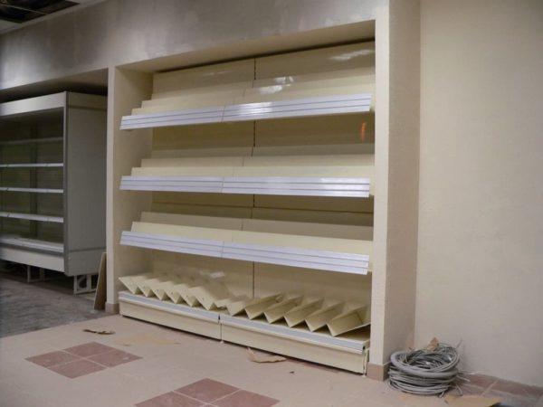 Стеллаж для торговли журналами и газетами без фриза для прессы в Казани по цене 11600 руб