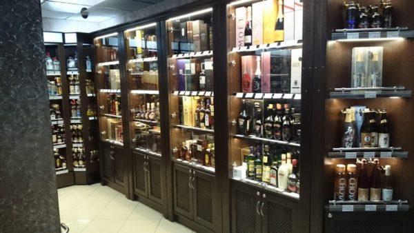 Шкафы для алкоголя