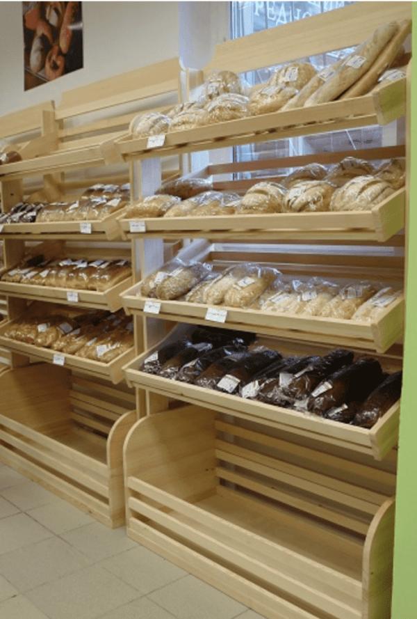 Стеллаж для хлеба рядный в Казани по цене 29404 руб