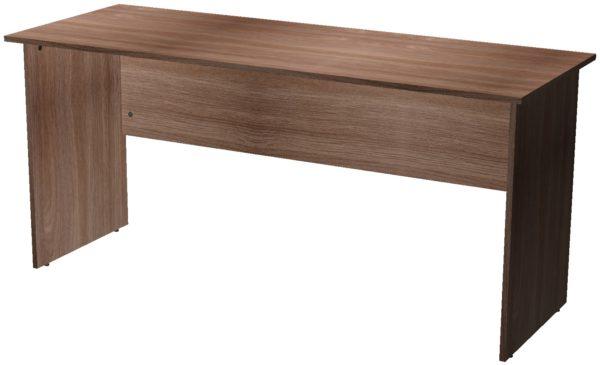 Офисные столы для персонала: Стол рабочий ЛДСП цвет Ясень Шимо тёмный