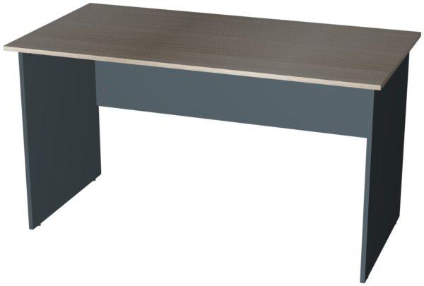 Офисные столы для персонала: Стол рабочий широкий ЛДСП многоцветный