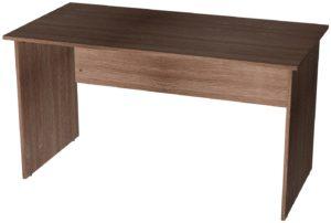 Офисные столы для персонала: Стол рабочий широкий ЛДСП цвет Ясень Шимо тёмный