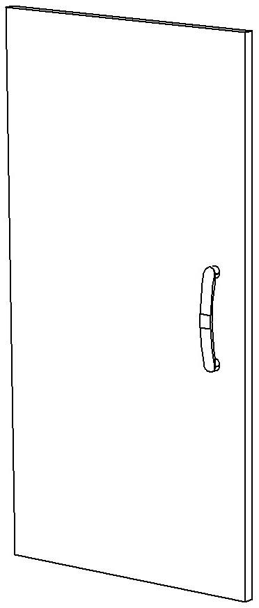 Дверь ЛДСП левая